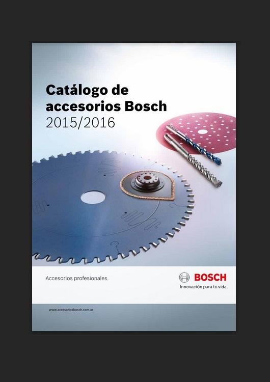 Catálogo de Accesorios – Bosch – 2015/2016