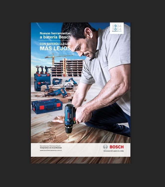 Catálogo de nuevas Herramientas a batería – Bosch
