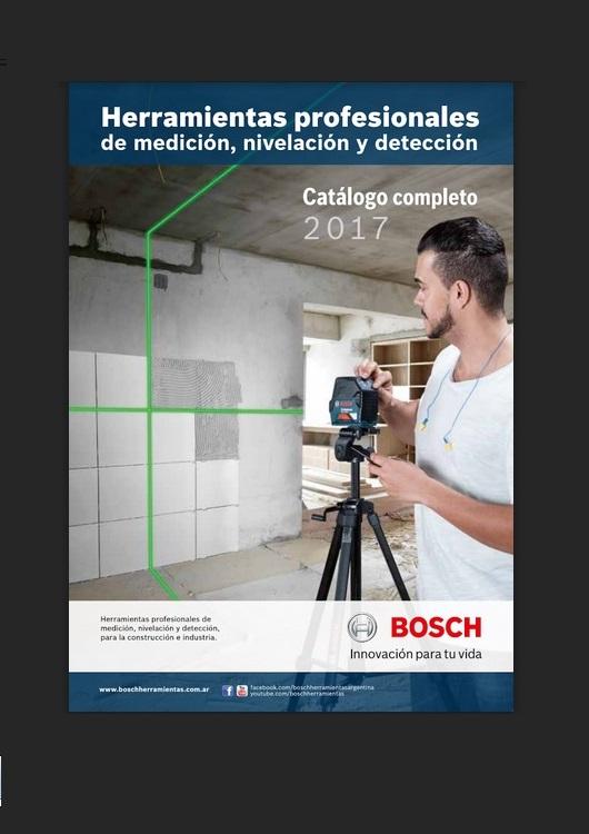 Catálogo de Herramientas Profesionales – Bosch – 2017
