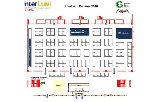 Interlumi Panamá 2018 - Plano