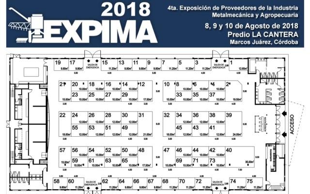 EXPIMA 2018 Argentina - Plano