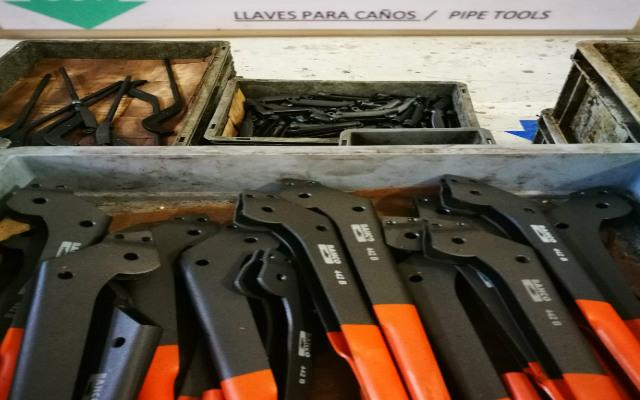 Componentes - Llave para caño