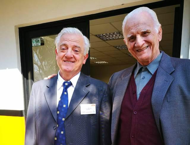 Oscar Mantica y Abel Pascualon