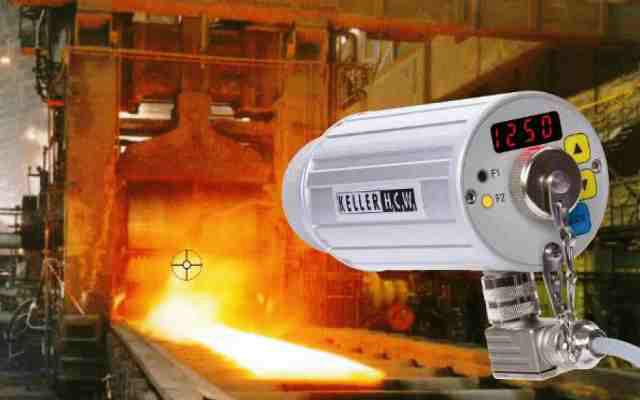Pirómetro óptico - Aplicación
