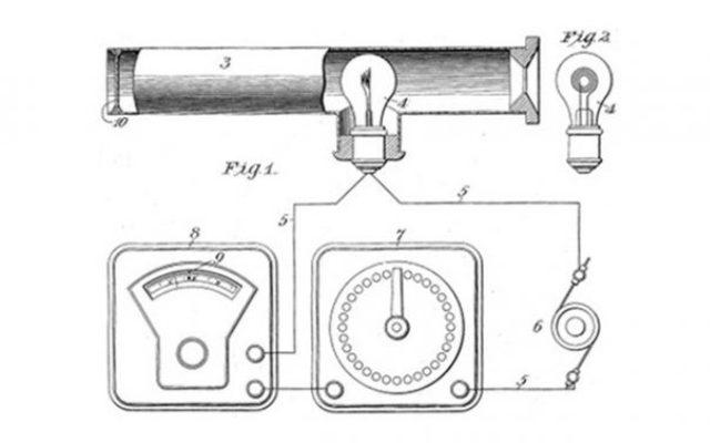 Primer pirómetro de Morse