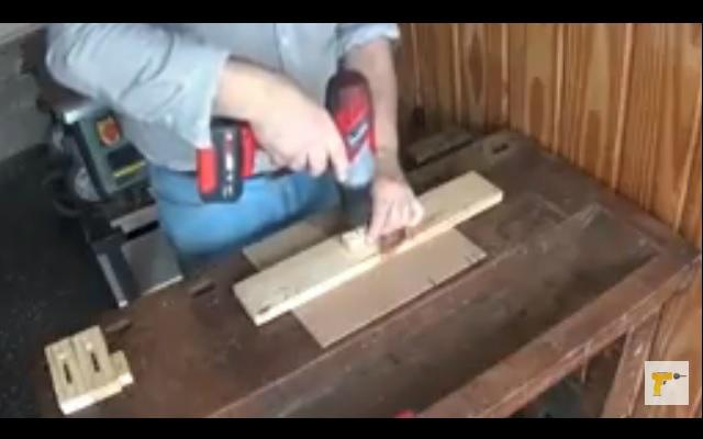 Cómo enderezar la madera - Dispositivo