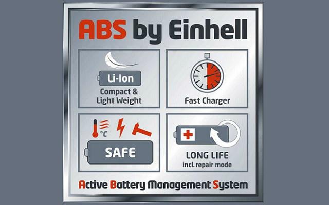 Sistema ABS de Einhell