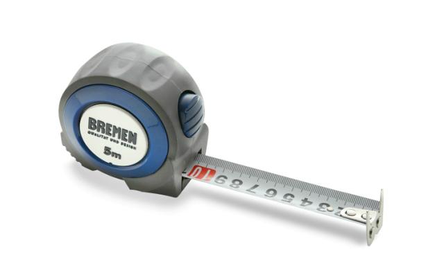 Cinta métrica fabricada en ABS con diferentes colores