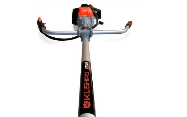 Desmalezadora con mangos de bicicleta