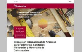 ExpoFerretera estrena sitio web para mejorar la experiencia de sus usuarios