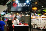 Chicago Pneumatic en la Automechanika 2018 – y su nueva llave de impacto a batería