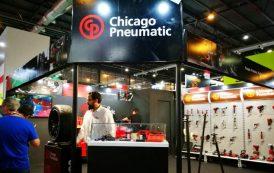 Chicago Pneumatic en la Automechanika 2018 - y su nueva llave de impacto a batería