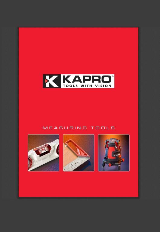Catálogo de Herramientas – Kapro