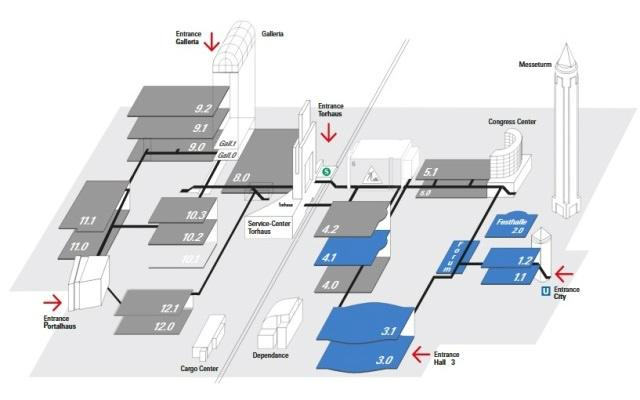 ISH 2019 Frankfurt - Plano