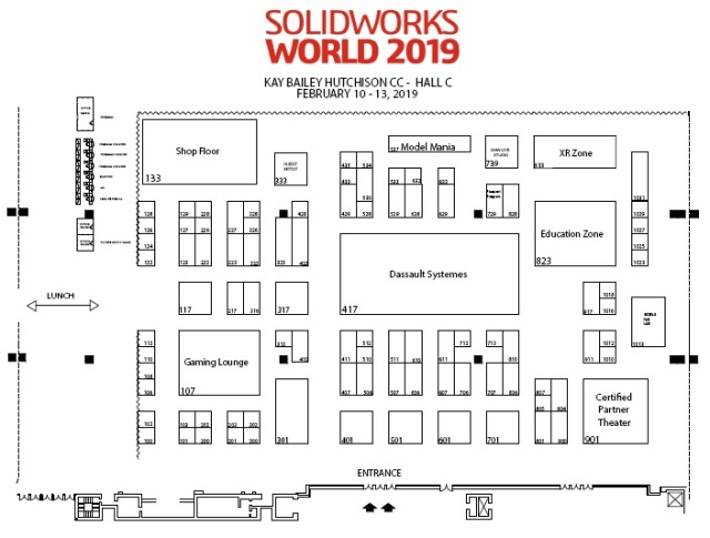 SolidWorks World Texas 2019 - Plano