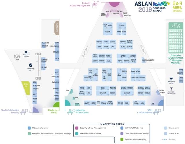Aslan Madrid 2019 - Plano