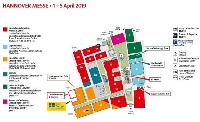 Hannover Messe 2019 - Plano
