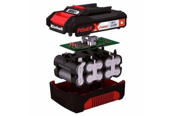 Herramientas a batería - Componentes de una batería