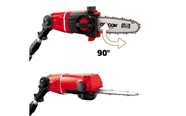 3 herramientas para el jardin - Cortacerco pieza giro 90°