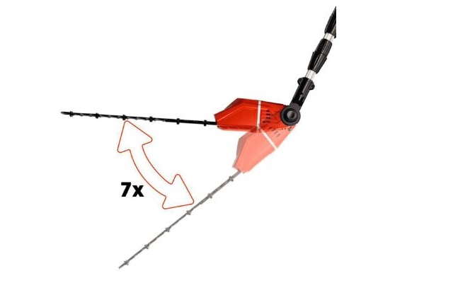 3 herramientas para el jardin - Cortacerco inclinación del motor