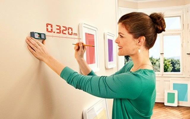 Medidor láser - Uso en el hogar
