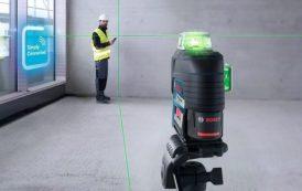 La innovación continúa en niveles láser con línea verde