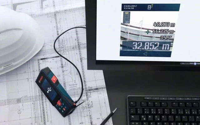 Bosch GLM 120 C - USB