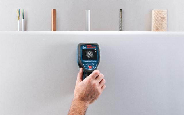 Detector de materiales - Diferentes materiales
